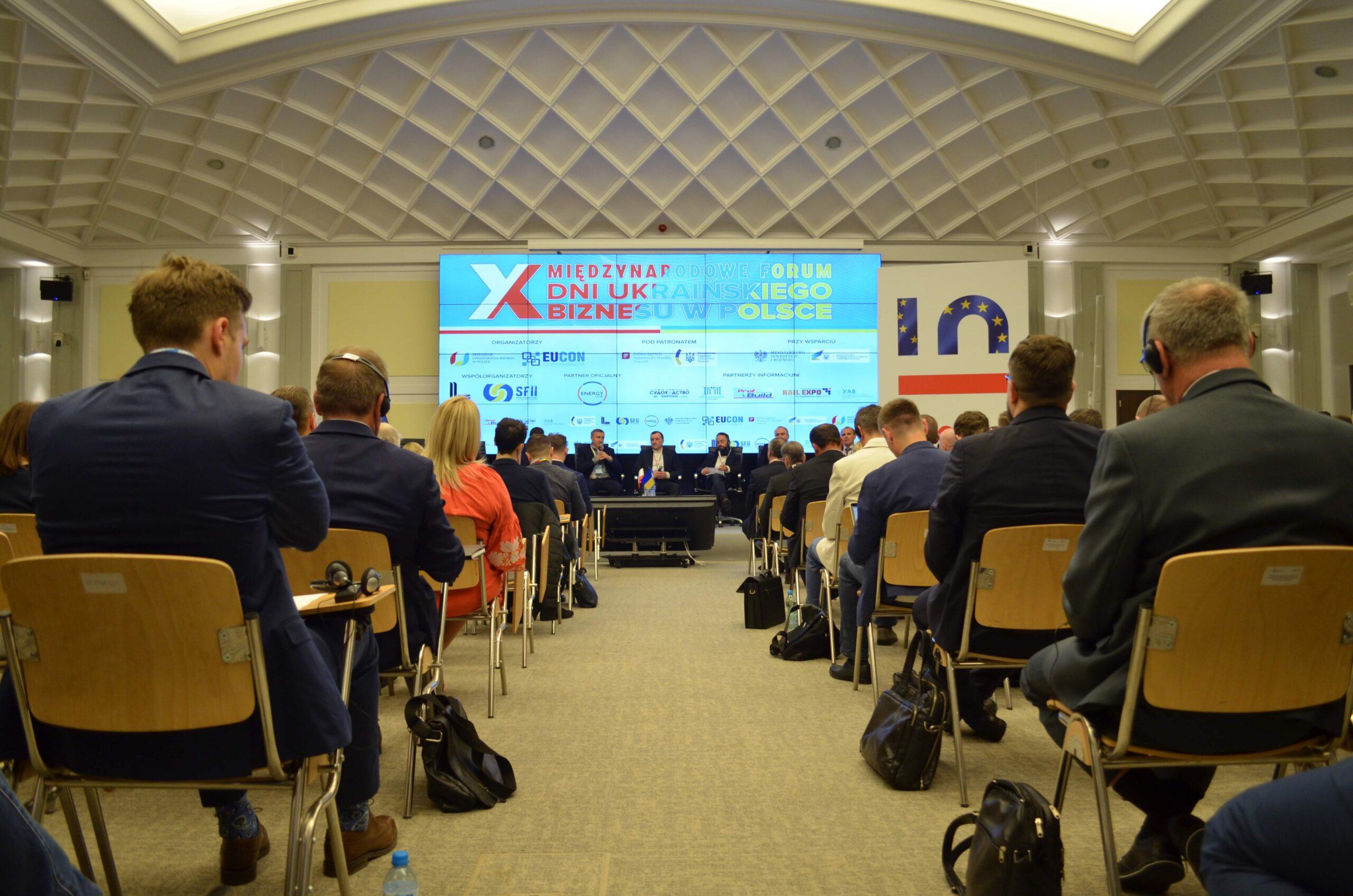 """У Варшаві відбувся ювілейний Х Міжнародний форум """"Дні українського бізнесу в Польщі"""" – підіб'ємо підсумки!"""