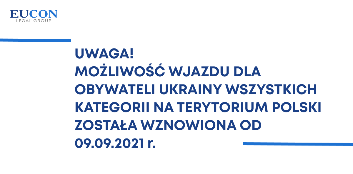 Ważne informacje dla osób planujących wyjazd do Rzeczypospolitej Polskiej!