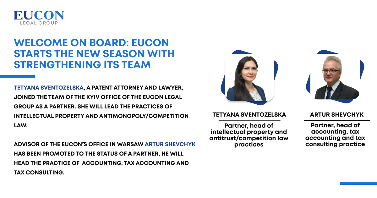 Welcome on board: EUCON starts the new season with strengthening its team